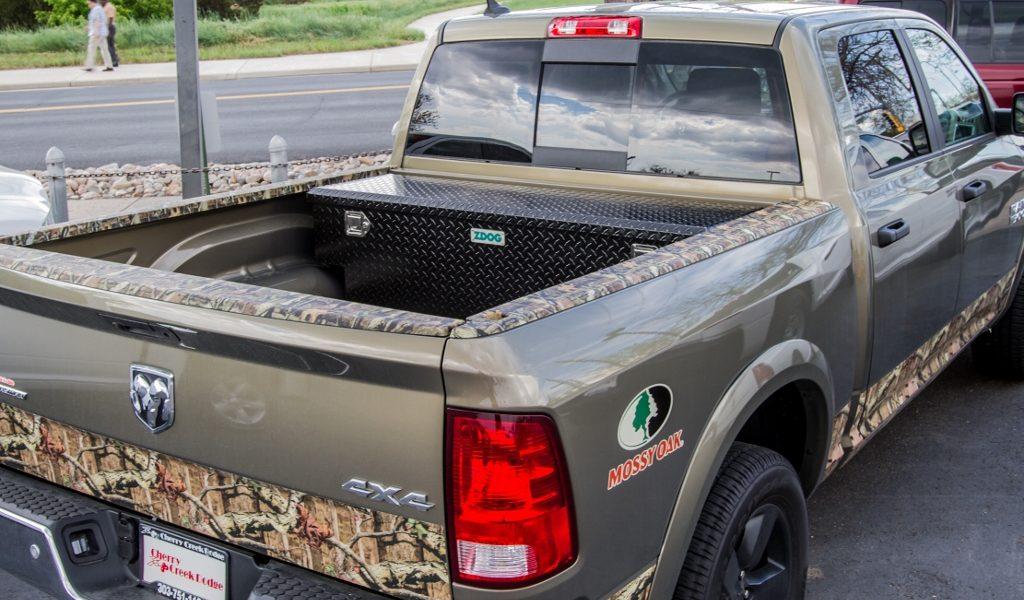 flush mount tool box for trucks 2