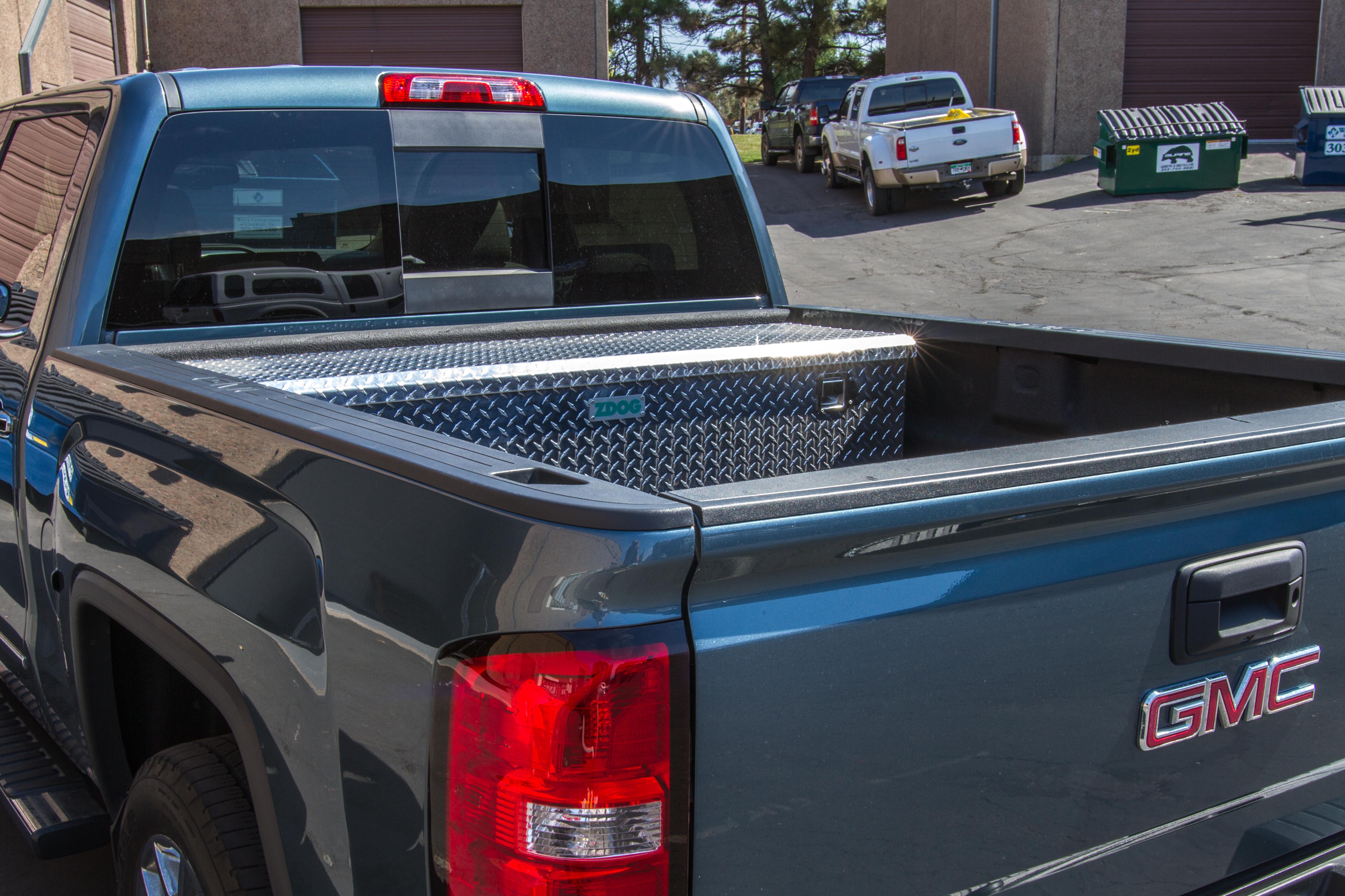 Silverado truck tool box
