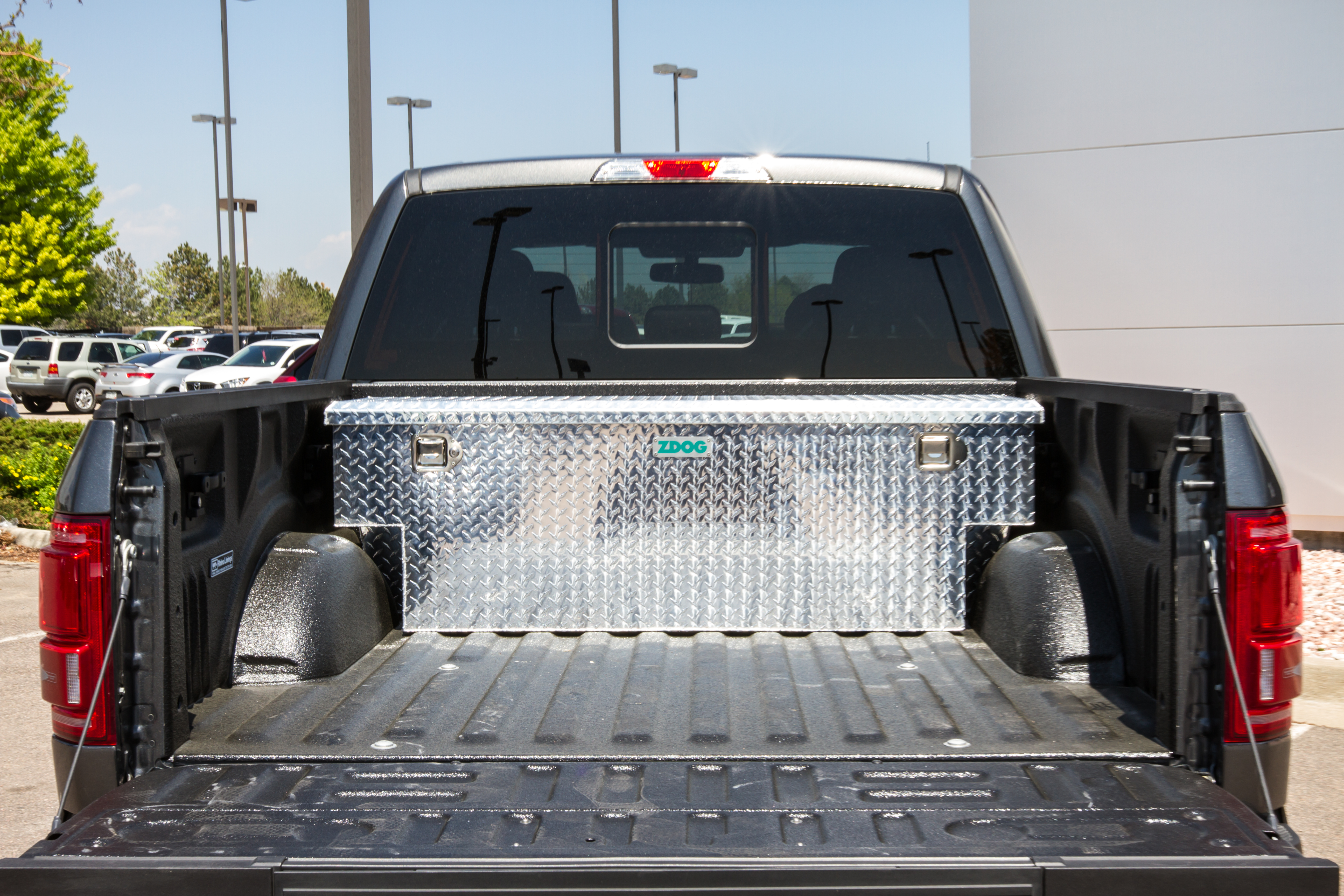 Ford F 150 Truck Bed Dimensions >> ZDOG FF5-1000 (Ford F-150, 2015 or newer models) | ZDOG Truck Took Boxes
