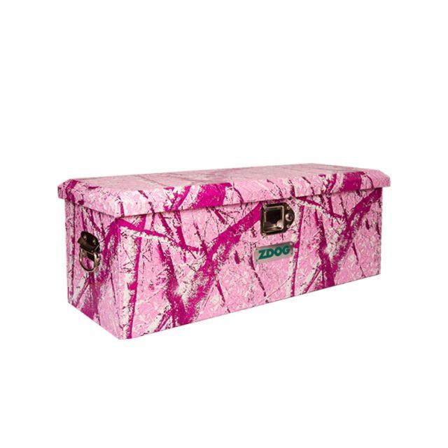 Tool Box Covers >> ATV Tool Box - Utility/RV Tool Box A32-1013 Pink Tree Camo Wrap | ZDOG